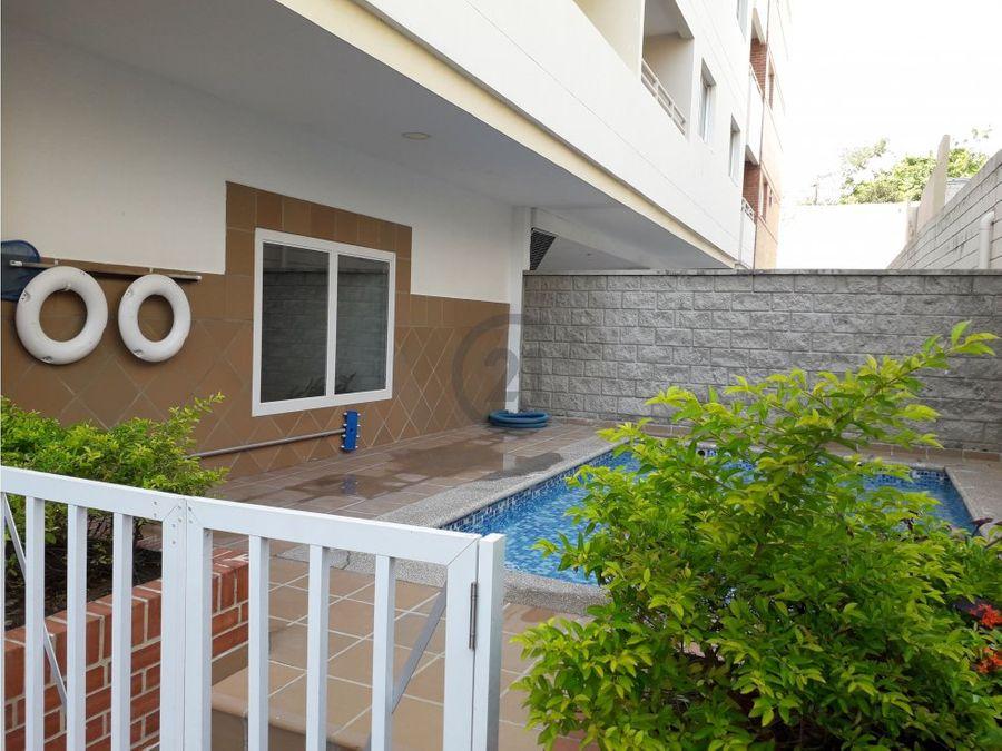 apartamento ciudad jardin 1 alcoba piscina