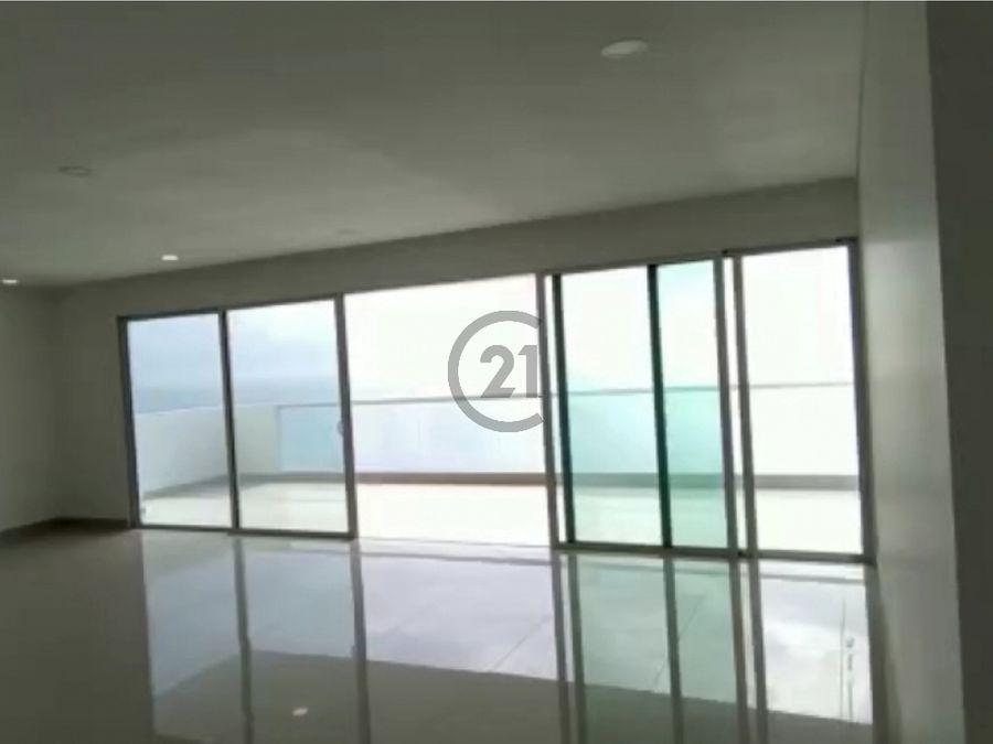 se vende apto 297 mt2 de estrenar frente al mar rodadero sur sta mta