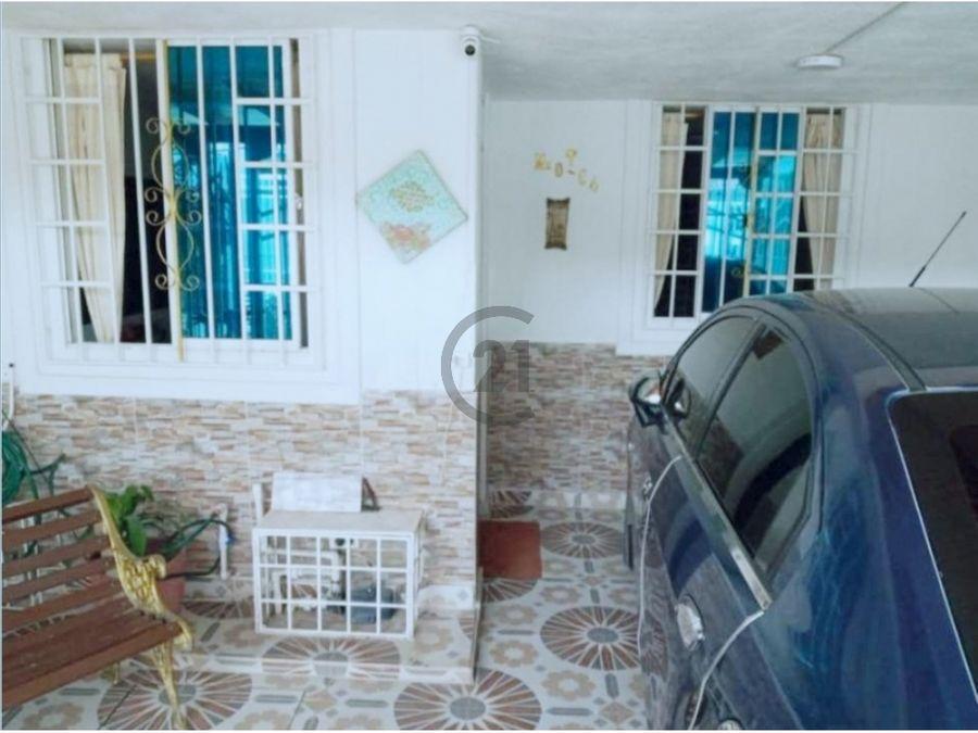 se vende casa 2 pisos 120 mt2 urb brisas de tamaca santa marta