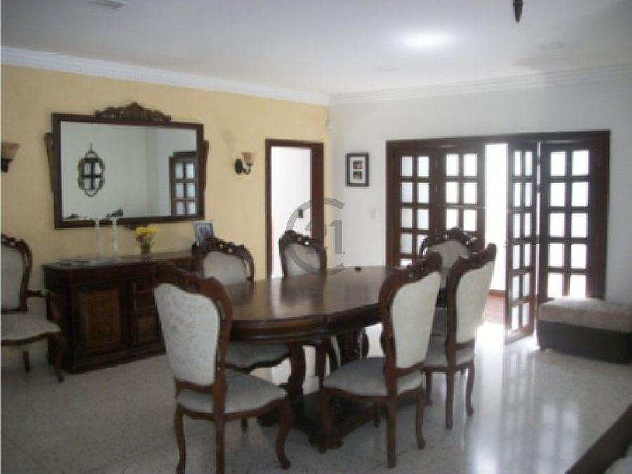 casa en venta en la campina barranquilla