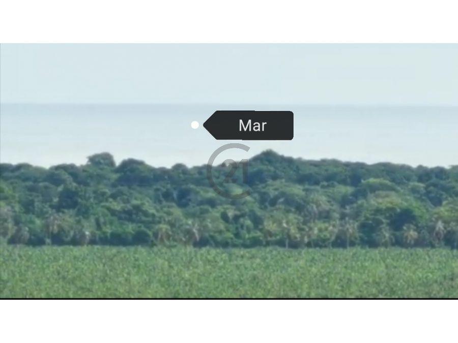 se vende finca 2487 ha vista al mar guachaca santa marta colombia