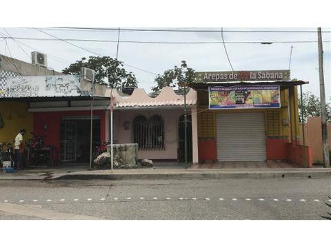 casa de uso mixto en venta avenida las penitas sincelejo