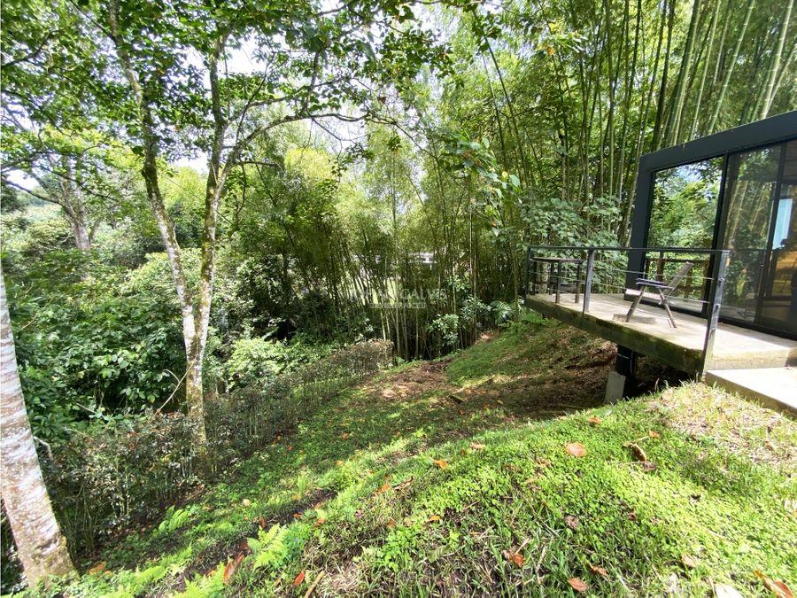 venta casa campestre con aviario en el bosque