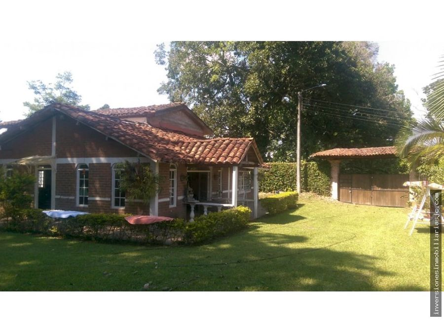 venta casa campestre alcala valle