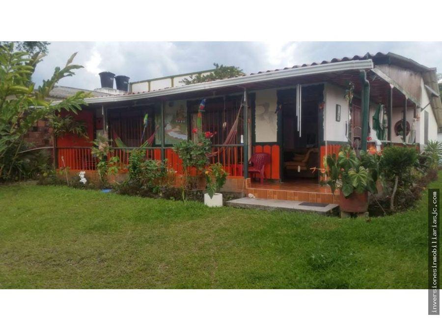 venta casa campestre entre circasia y montenegro q