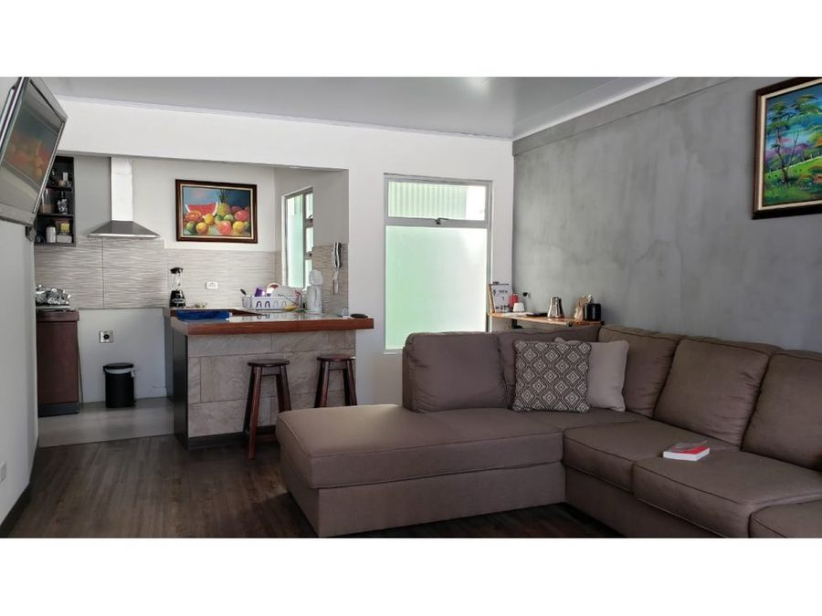 apartamento loft alquiler pozos de santa ana