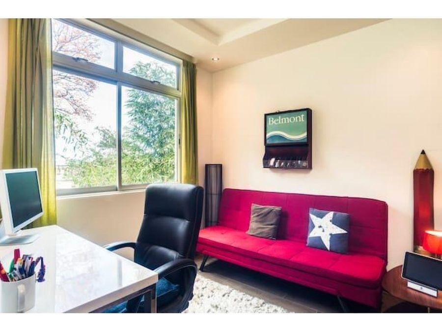 hermoso apartamento en exclusivo condominio