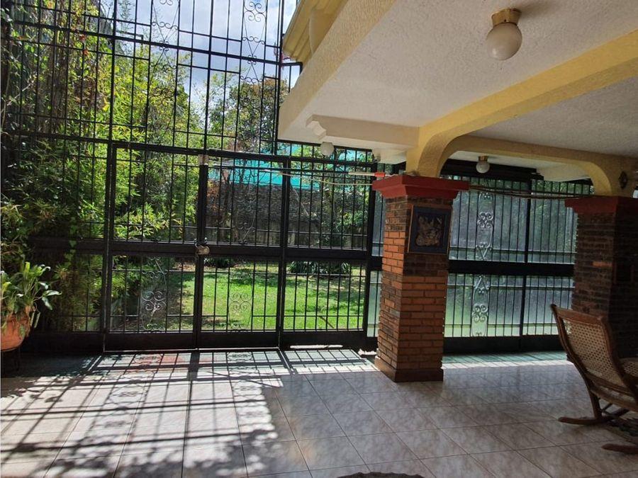 casa en venta alto de las palomas escazu