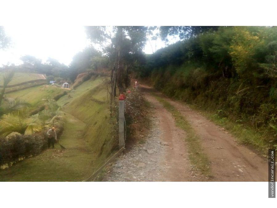 lote en guatape acceso a la represa