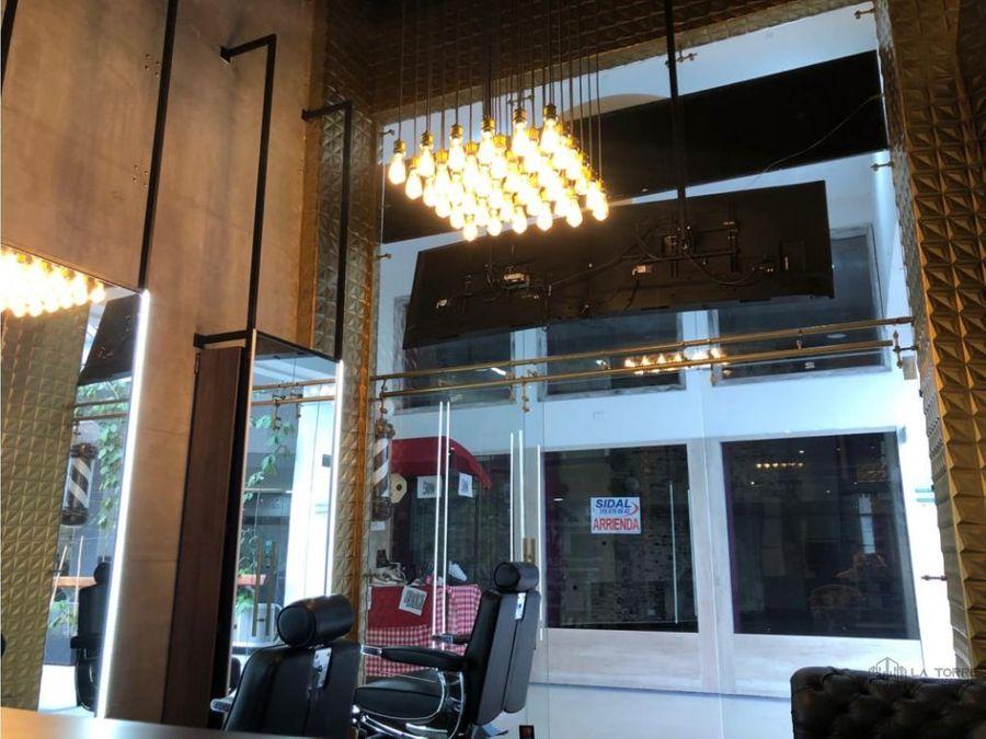 local comercial para la venta o renta barberia