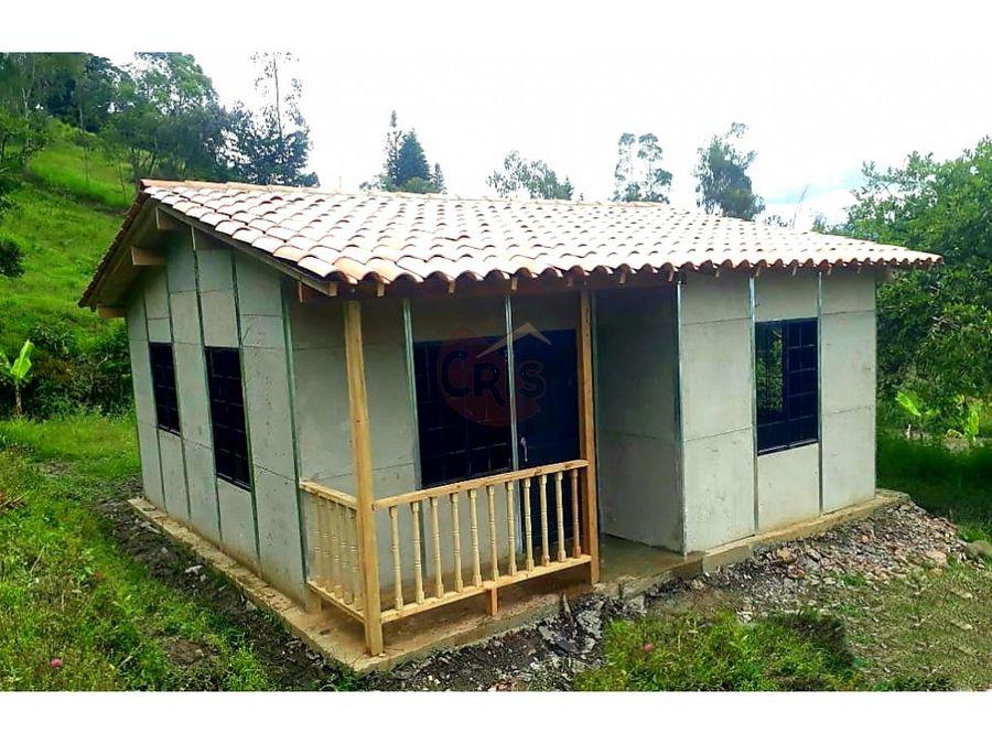 casa prefabricada 36 m2 tienes un terreno o un espacio disponible