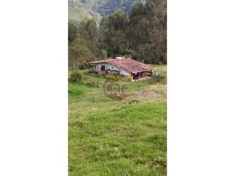 casa para la venta en zona rural de salento