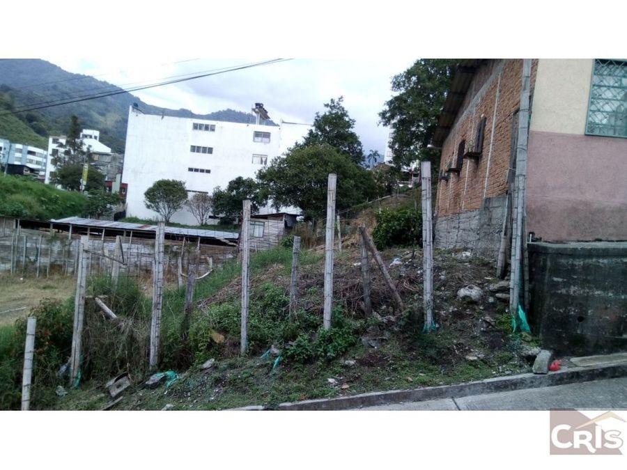 casa lote zona plaza de bolivar calarca