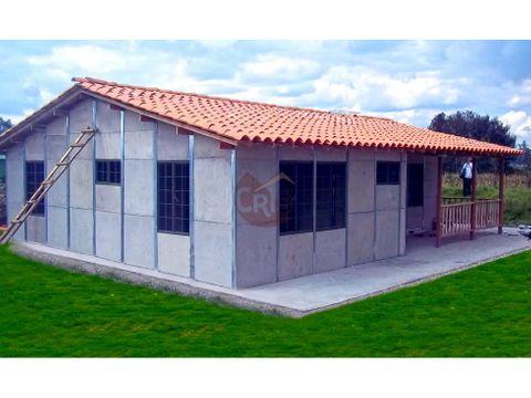 casa prefabricada 101 m2 tienes un terreno o un espacio disponible