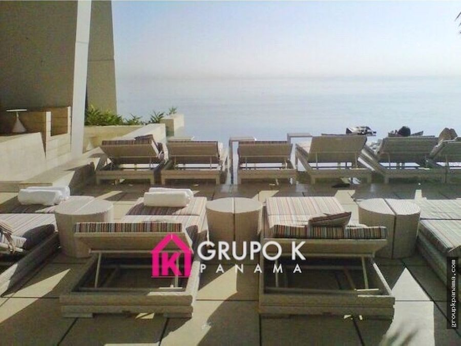 alquilo trump jw marriott 100mts p pacifica