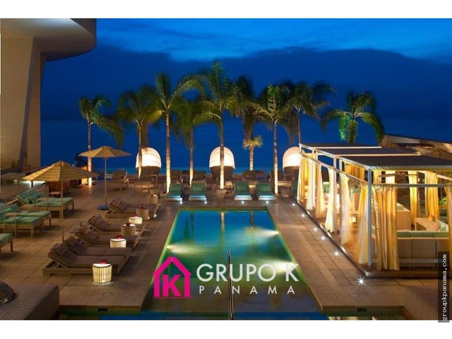 alquilo trump jw marriott 153mts p pacifica