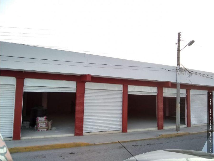 renta de local comercial centrico en tlaxcoapan
