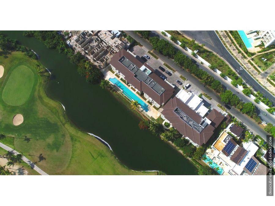 apartamento con vista al lago punta cana bl
