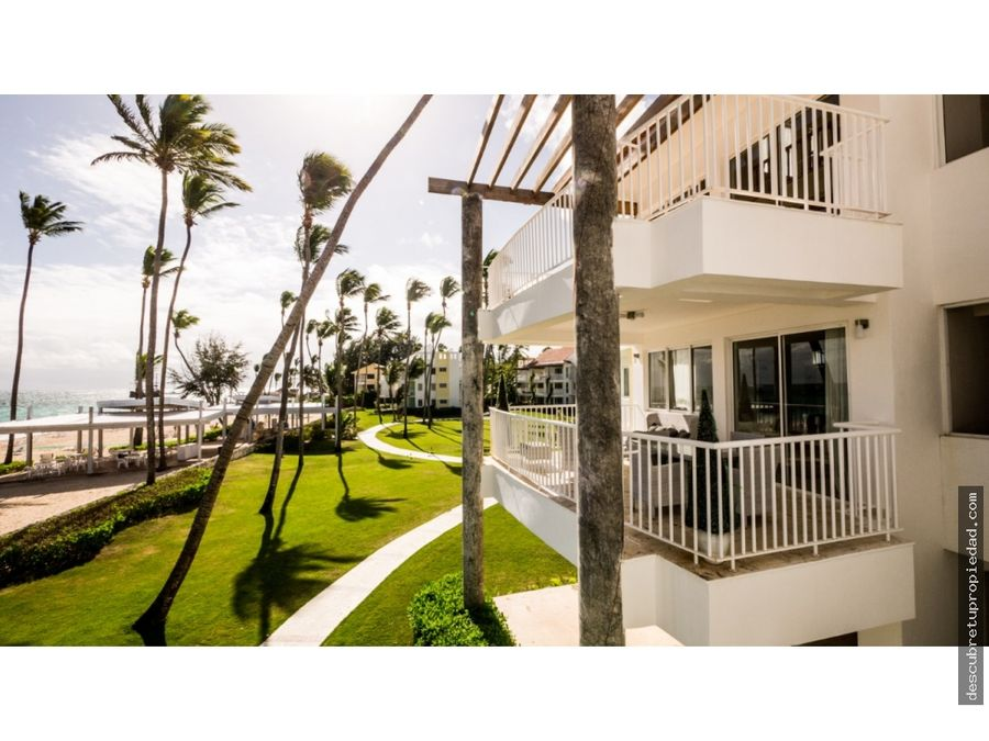 apartamentos listos primera linea de playa bavaro punta cana