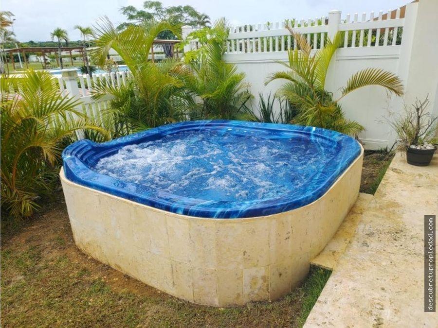 villa amueblada con jacuzzi en sosua ocean village