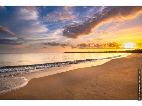 terreno de playa miches