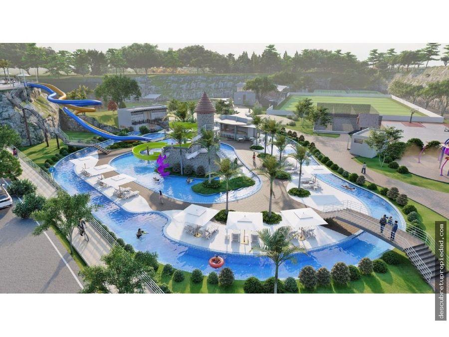 apartamentos con parque acuatico en punta cana