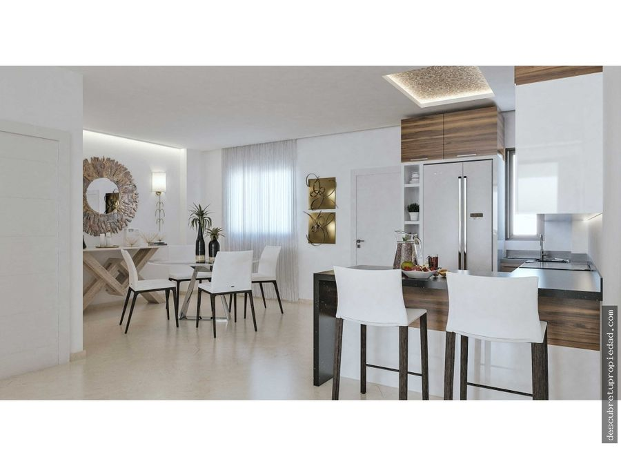 apartamento en cana bay con casa club
