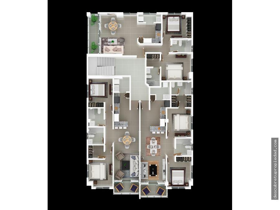apartamento urb tropical