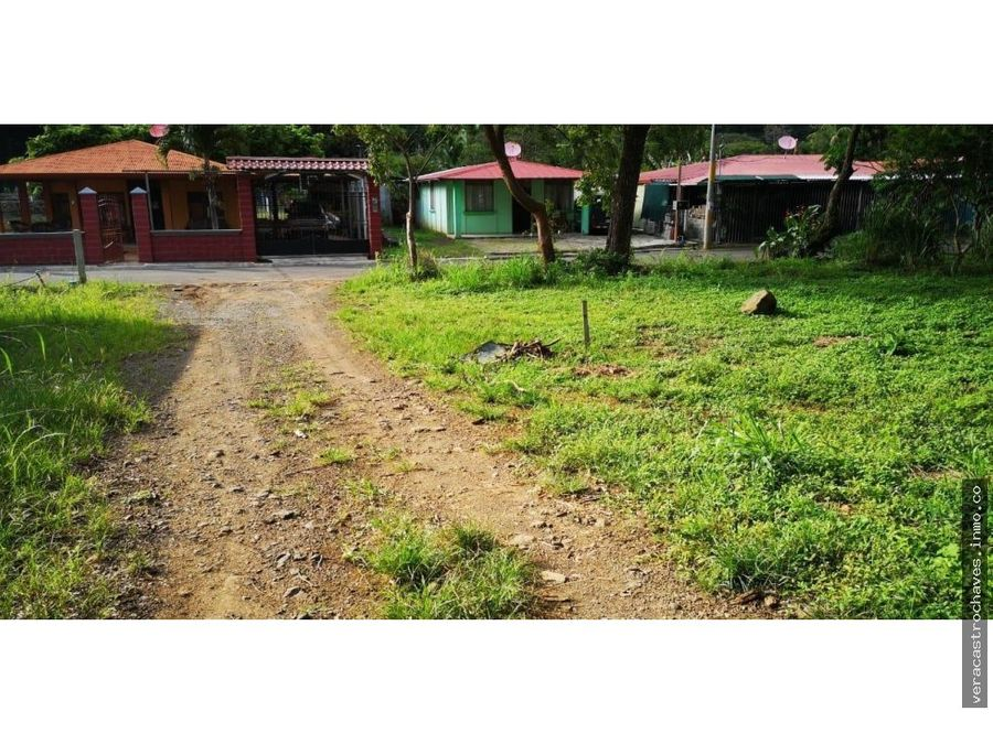 vendo lote escobal alajuela