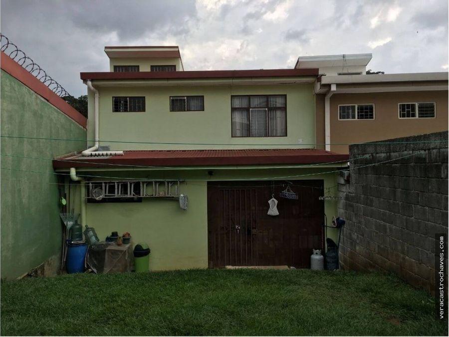 vendo casa en urbanizacion cristal la uruca s jose