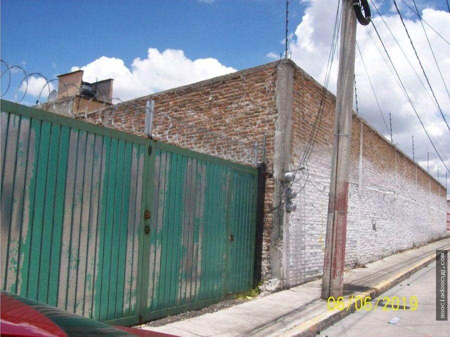 terreno y casa de 2500m2 cuautitlan izcalli