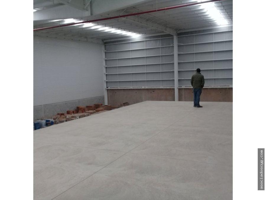 bodega 1 200 m2 renta tultitlan edo de mex