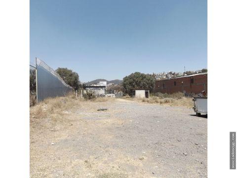 terreno renta 3000m2 tlalnepantla de baz