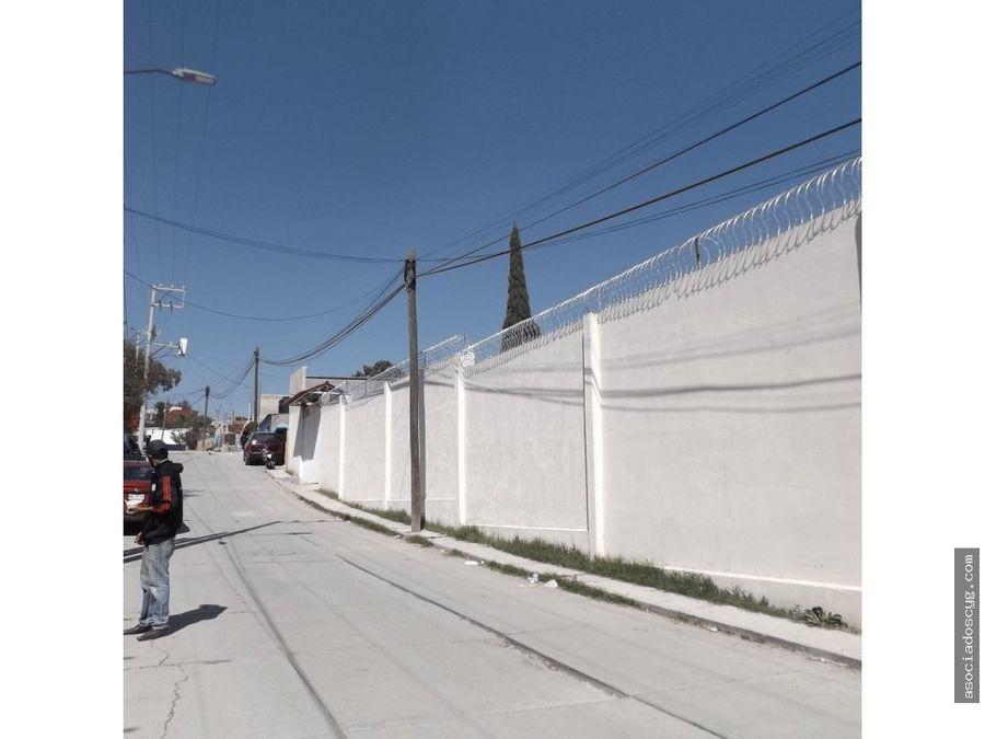 inmueble de 2 200m2 venta nicolas romero edo mex