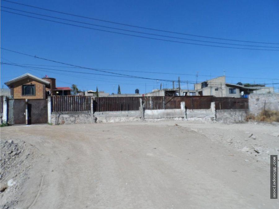 terreno 2 600m2 renta cuautitlan izcalli