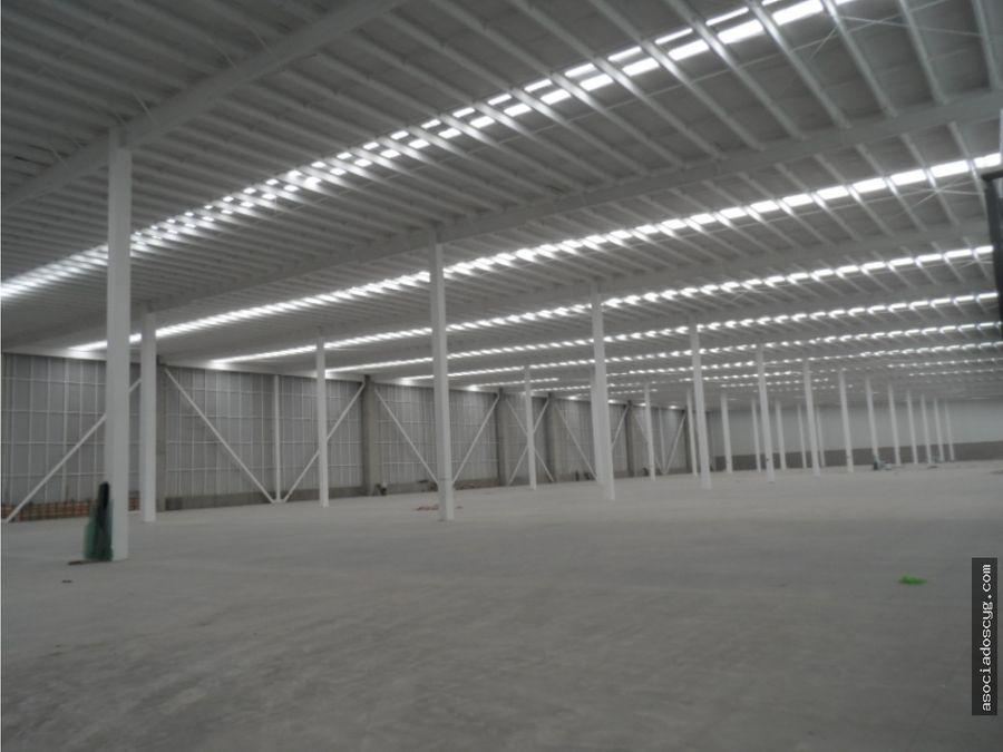 bodega 6 000 m2 rento tepotzotlan edo de mex