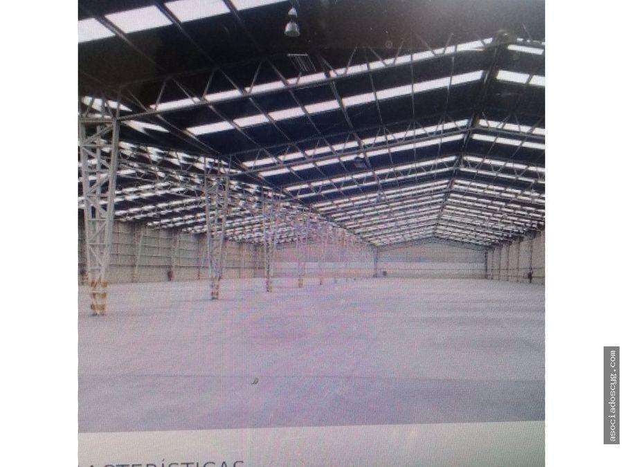 bodega de 6 655 m2 cuautitlan izcalli edo mex