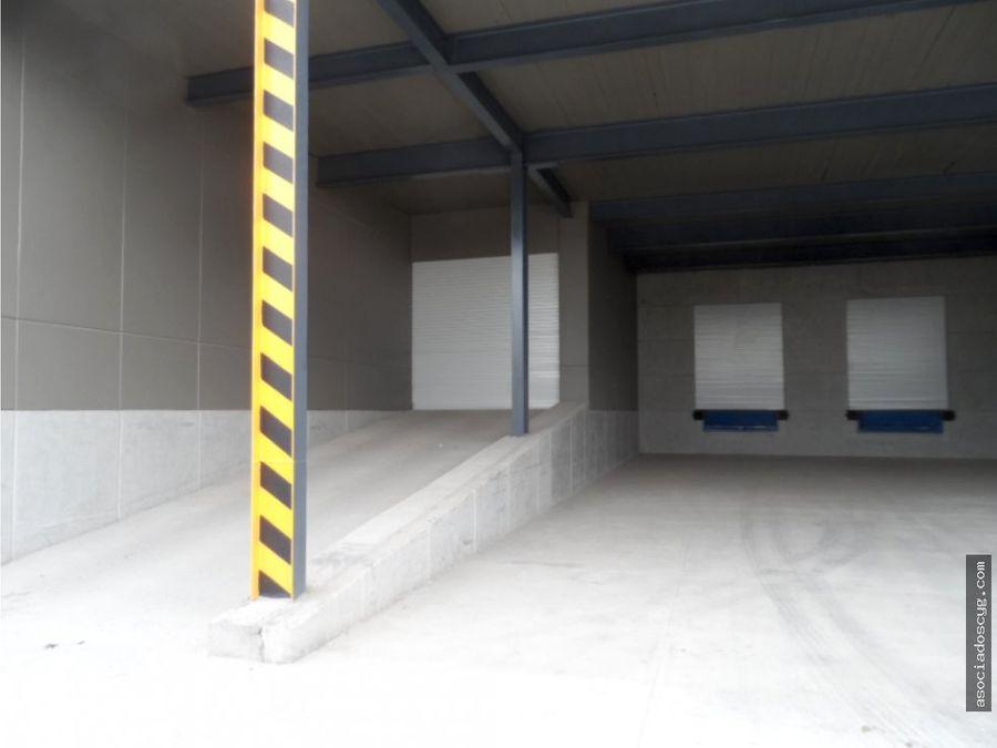 bodega en condominio 906 m2 tultitlan edo de mex