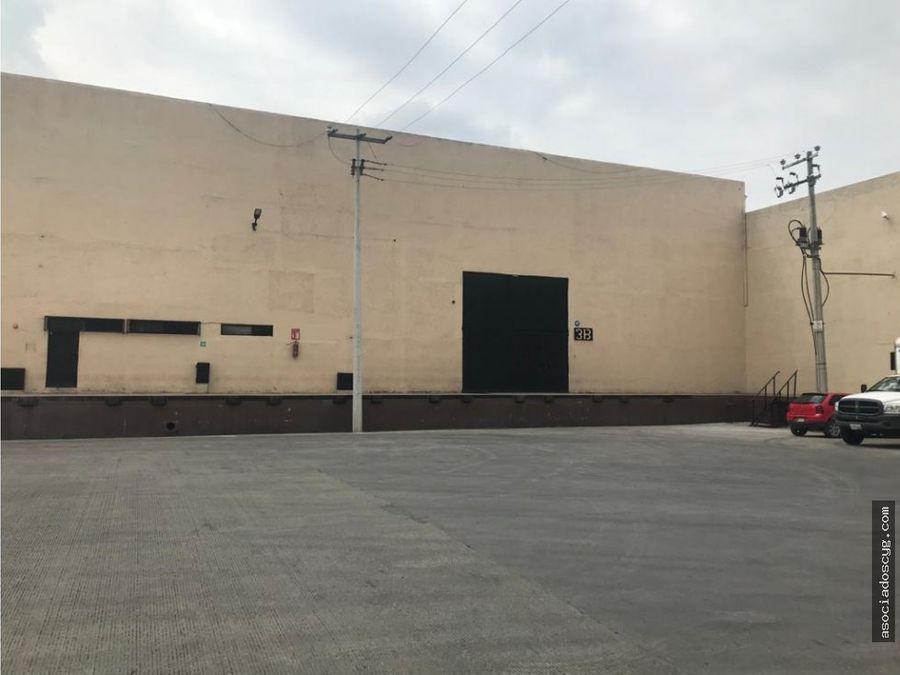 bodega cartagena 5188 m2 renta tultitlan edo de mex