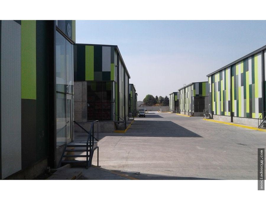 bodegas condominio 1209 m2 tultitlan edo mex