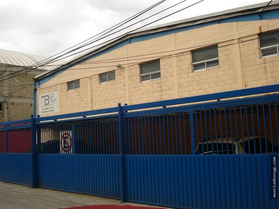 bodega 1200 m2 tlalnepantla baz tequesquinahuac
