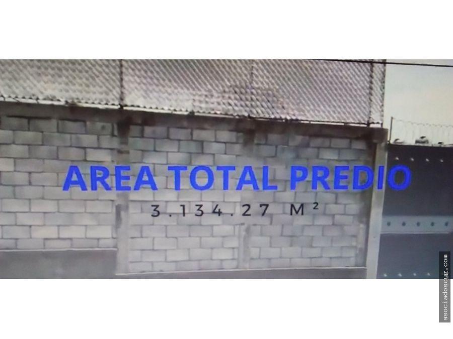 terreno comercial de 3070m2 renta tlalnepantla