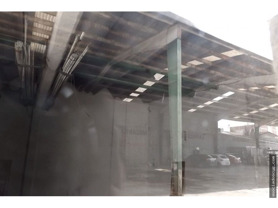 bodega de 1 800m2 venta o renta en tultitlan