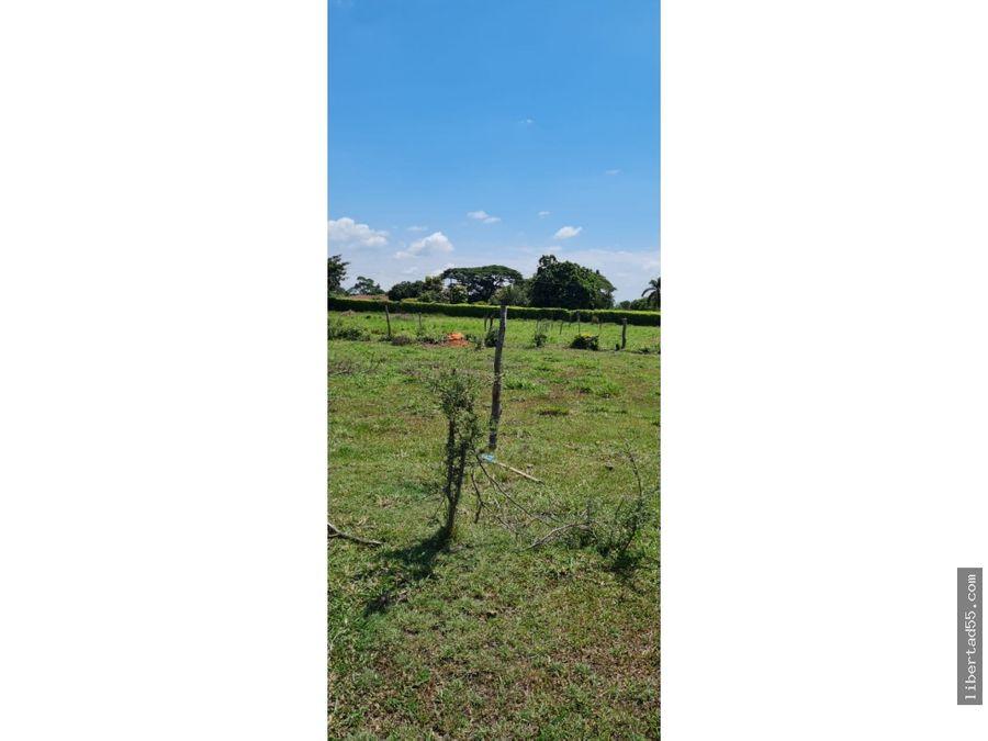 se vende lotes de 1000m2 en santa elena cerrito palmira valle