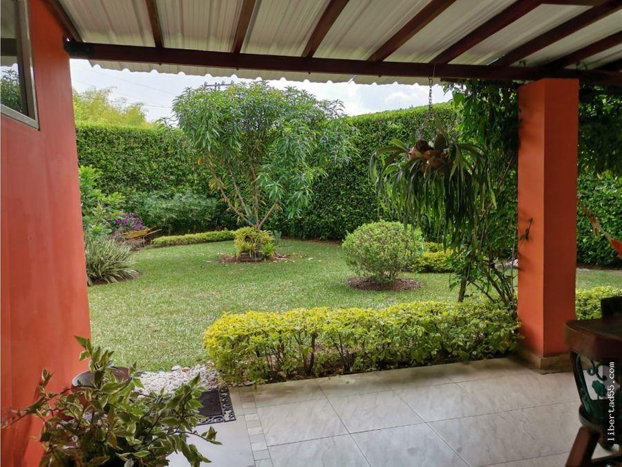 vendo casa campestre en condominio verde horizonte jamundi cali