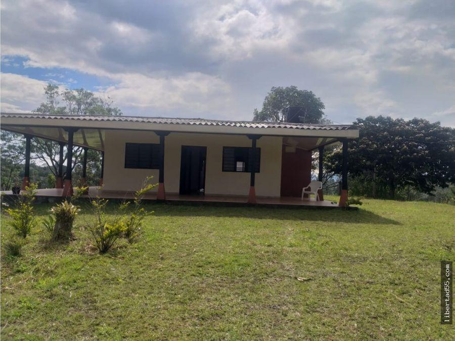 vendo casa campestre las margarita popayan cauca colombia