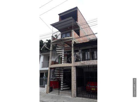 se vende o se permuta edificio de 4 pisos brisa de los alamos cali