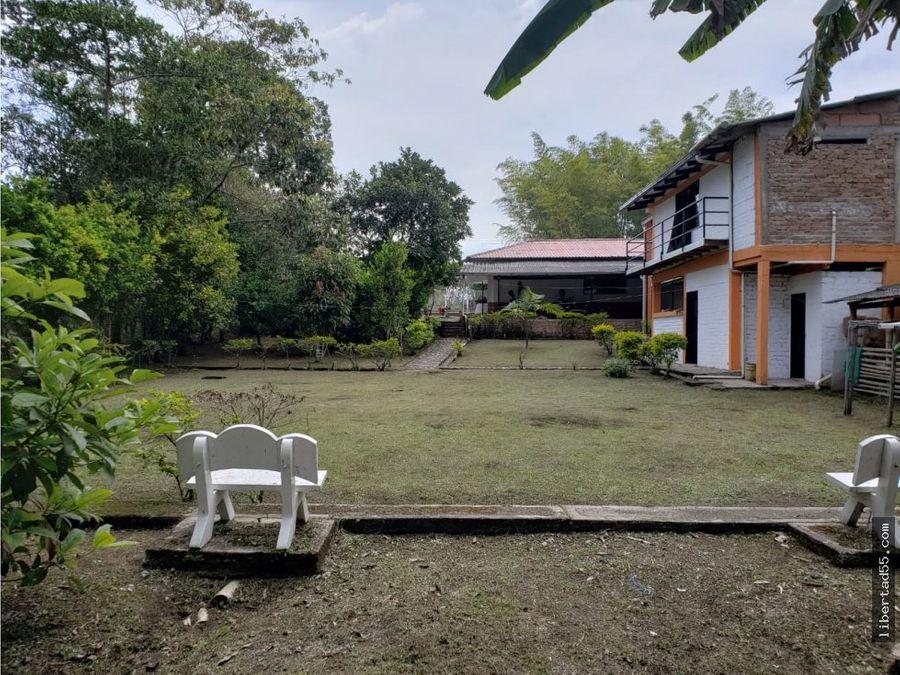 venta casa finca veredad la florida entre piendamo y morales