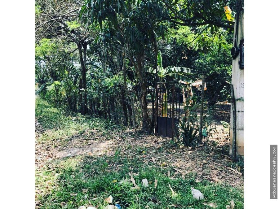 terreno en barrio el espino catacamas