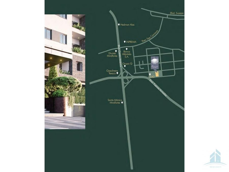 apartamento en venta acacias san ignacio